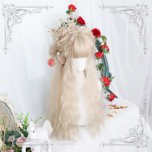 Lolita grey white wig YC23899