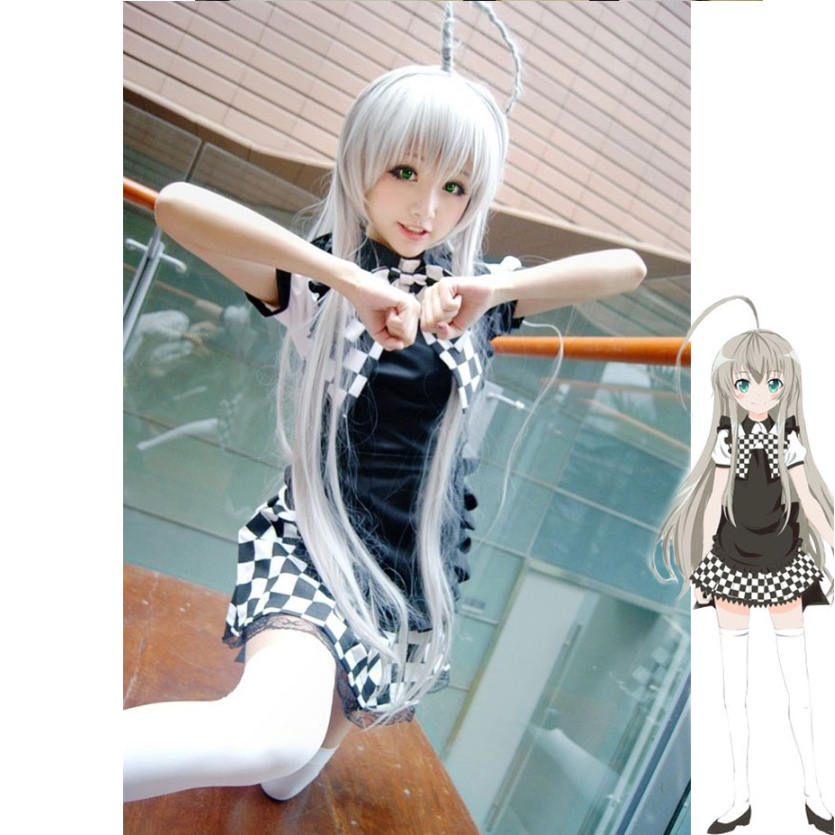 Haiyoru! Nyaruani cosplay Clothing uniform yc20803