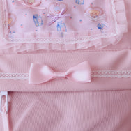 Japanese lolita pink backpack yc20999