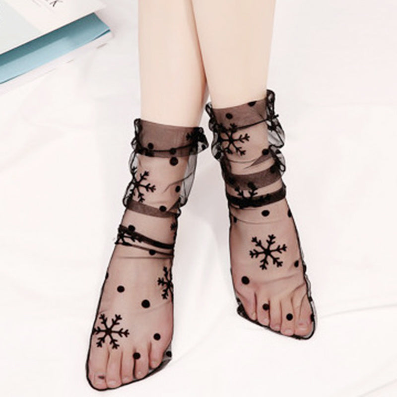 5 pieces Lolita sexy lace socks yc20954