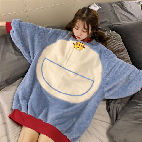 Cute Doraemon pajamas two-piece suit yc20940