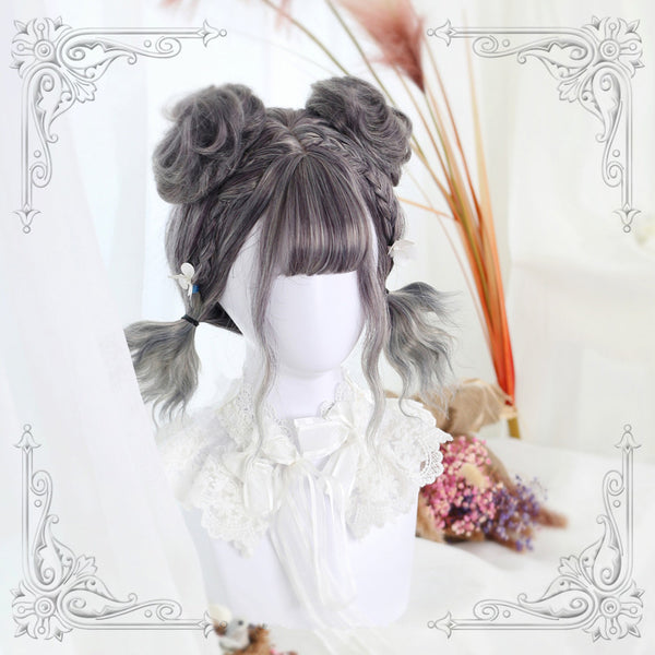 Harajuku Gradual Wig + Small Hair Bag yc20816