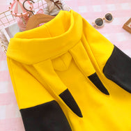 Cute pikachu hooded sweater yc20925