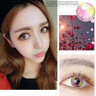COSplay Colorful Pink(Two piece)Contacts Lens YC20767