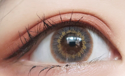Brown contact lens (Two piece)  YC21205