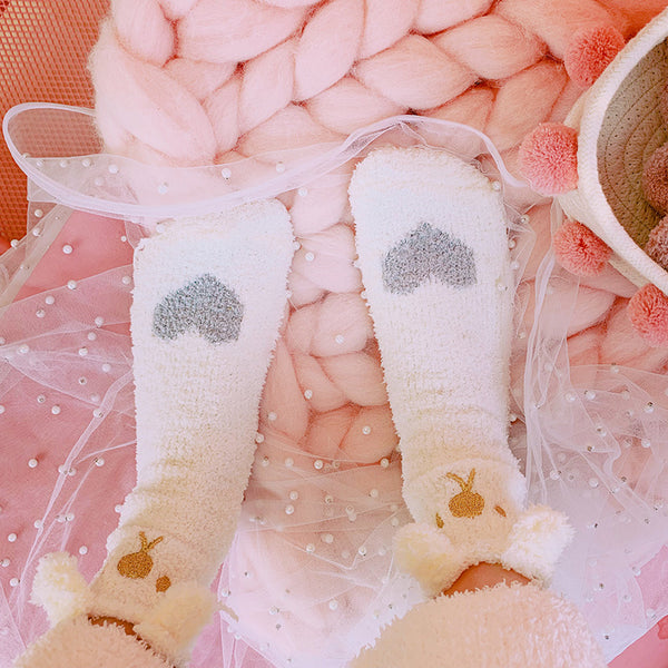 love cat plush cotton socks YC23993