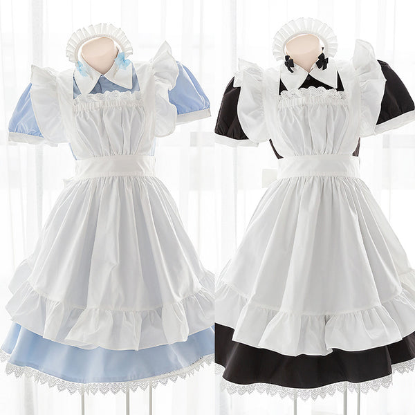 Japanese style cos maid dress yc23160