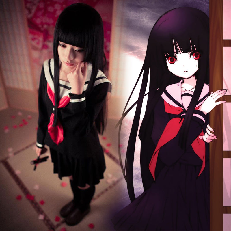 Hell Girl cosplay Sailor uniform yc20685
