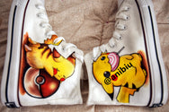 Cos Pikachu hand-painted shoes YC22056