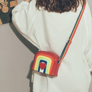 Love rainbow shoulder bag yc21042