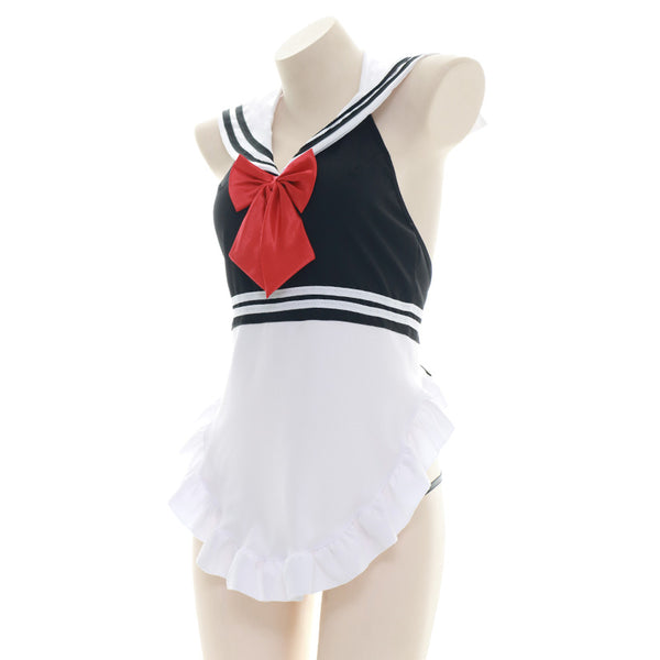 Sexy uniform maid apron set yc23467