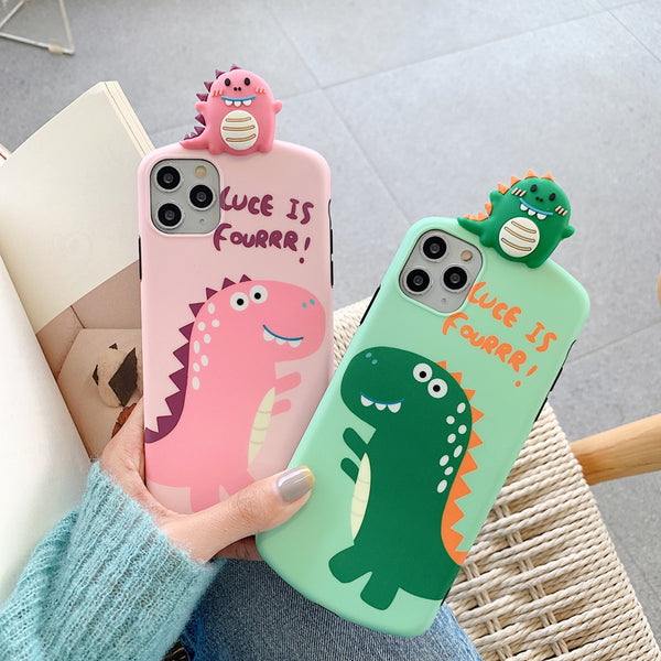 Cute crocodile pattern phone case yc23336