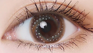 Brown contact lenses (two pieces) YC22072
