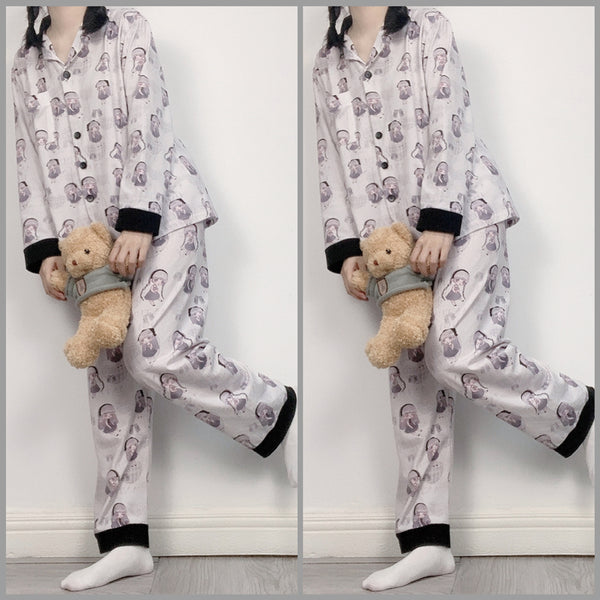 Fashion autumn/winter pajamas set yc23653