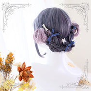 Lolita purple gradient wig yc20818