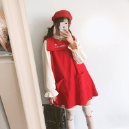 Christmas cute vest dress yc20739