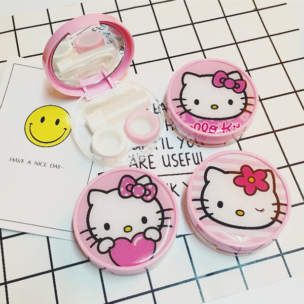 hello kitty cartoon contact lens case YC23977