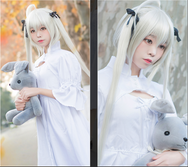 Kasugano Sora cosplay white dress yc20687