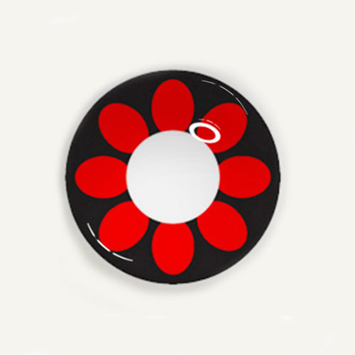 COSplay flower Contacts Lens(Two Piece)yc22254