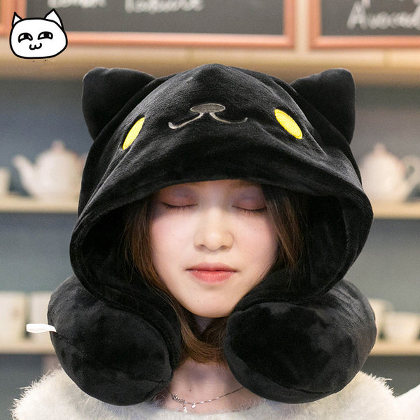 Cute Cartoon Cat U-shaped Pillow yc20647