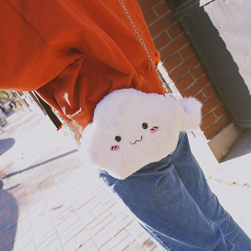 Japanese cute cloud shoulder bag yc20508