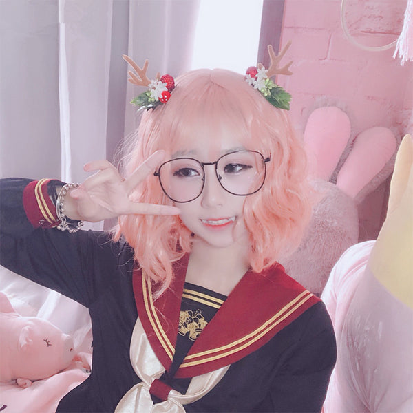 Lolita cosplay curly wig yc20897