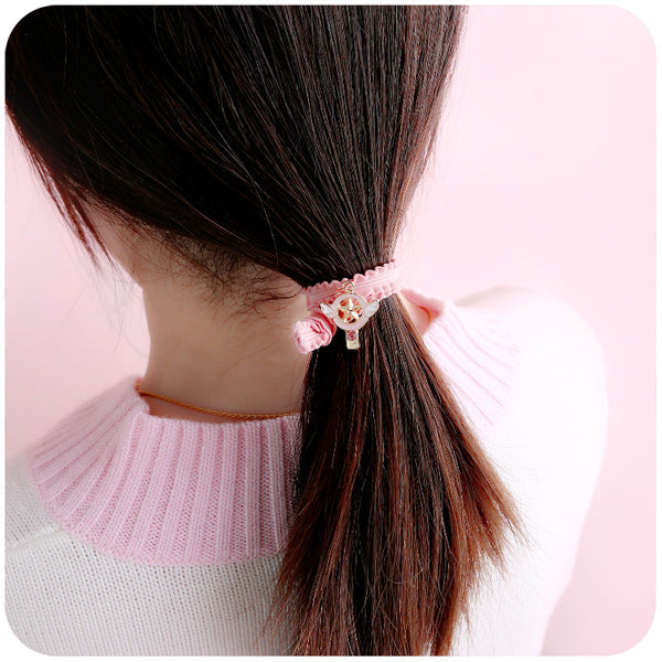 9 pack Cute Cartoon Hair Circle yc21002