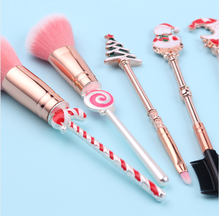 Christmas cos makeup brush set yc20868