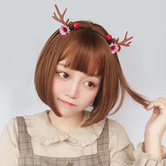 Lolita cos short hair wig yc20725