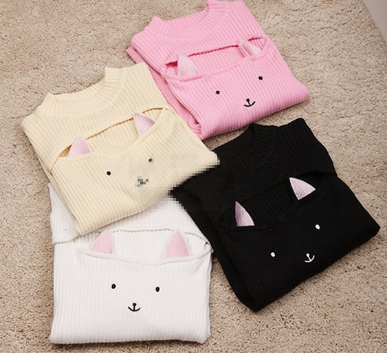Cute Sexy Cat Knit Sweater yc20798