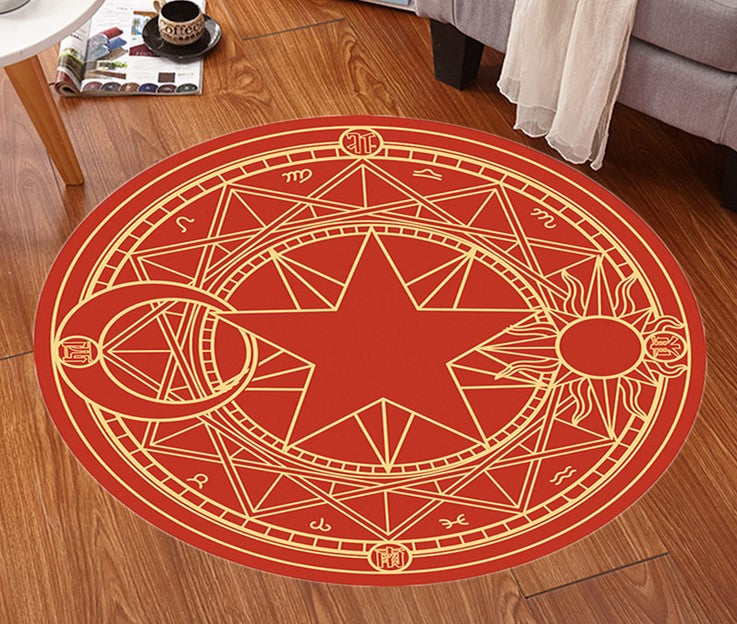 Card Captor Sakura Cos Round carpet yc20625