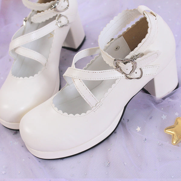 Lolita cosplay high heels yc20833