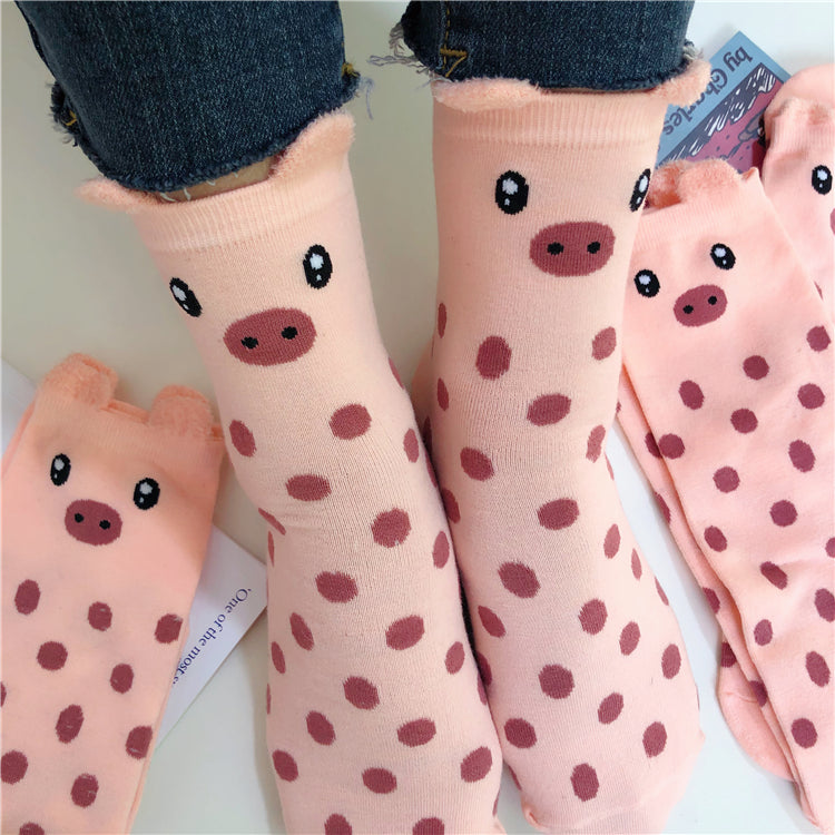Cute pig socks yc21059