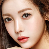 Brown Contact Lenses (Two Piece)   YC21262