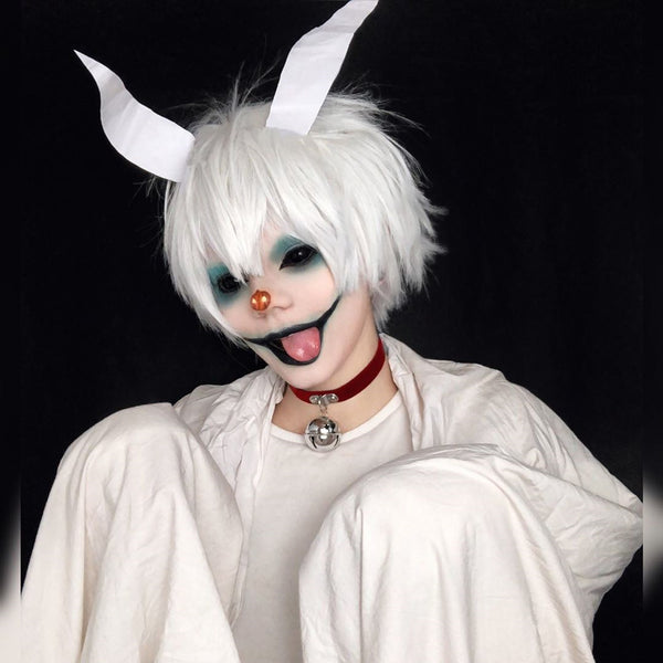 Tokyo Ghouls Cosplay Mask Wig Props YC20123