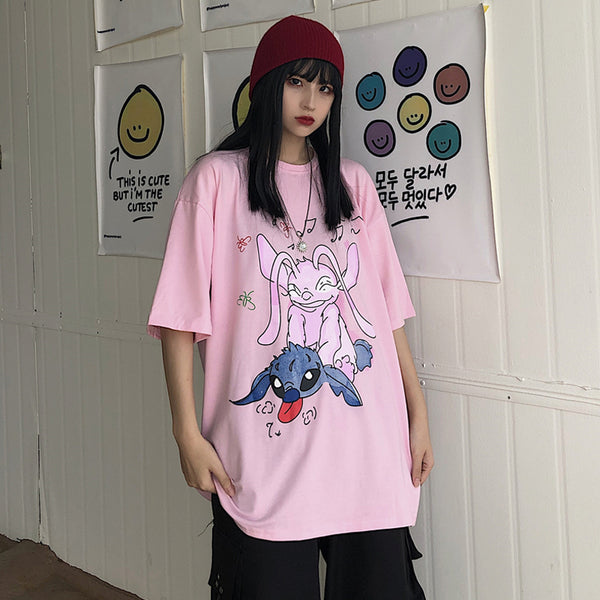 Fashion casual Stitch cos T-shirt yc23164