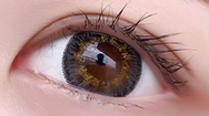 Yellow contact lens (TWO PIECE)  YC21243
