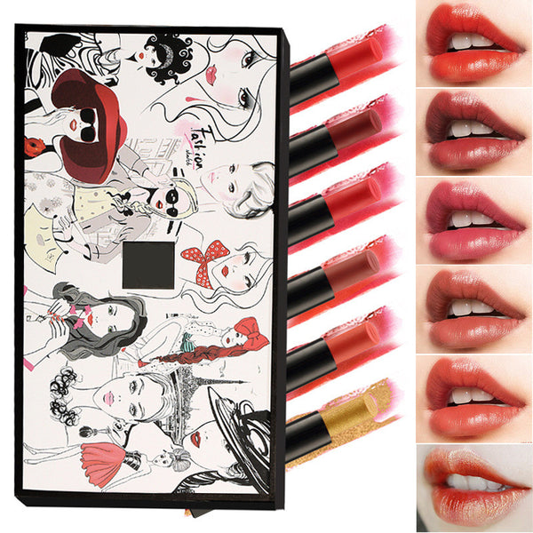 Matte Mini Lipstick Set (six pieces)   YC21298