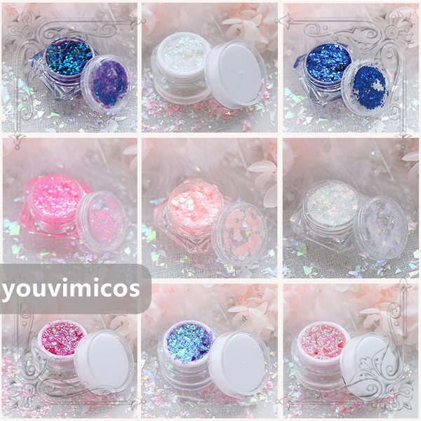 Lolita glue-free eye makeup sequins yc20748