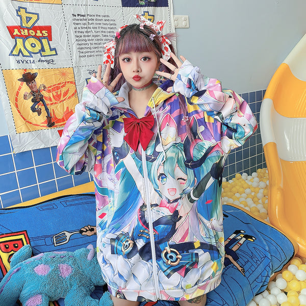 Harajuku cartoon sweater/coat  yc23817