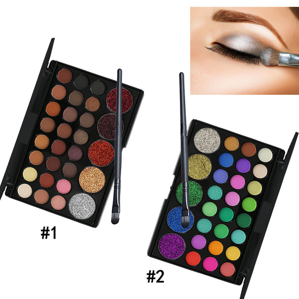 29-color glitter eye shadow tray  YC21278