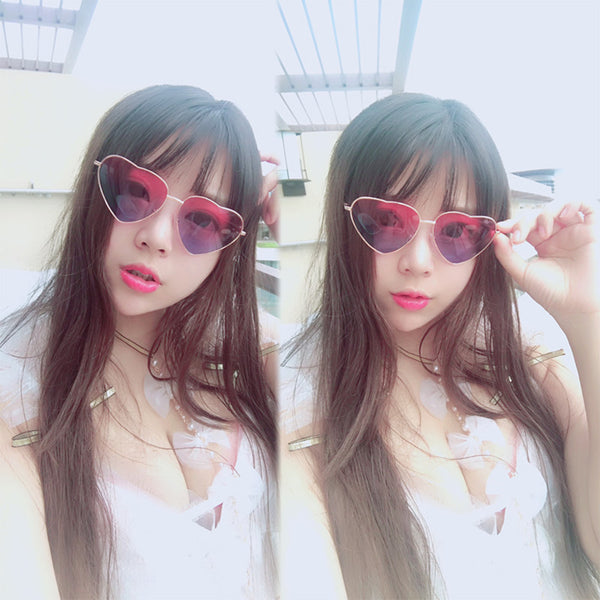 lolita metal love glasses yc21105