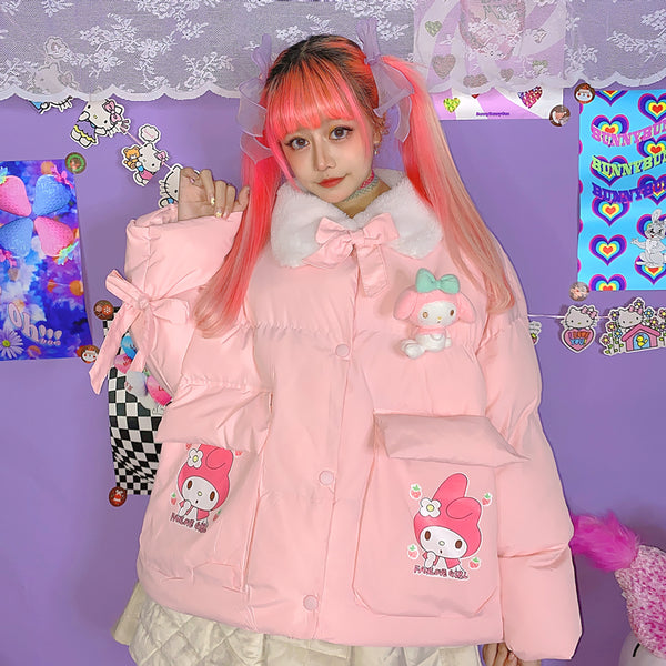 Cartoon My Melody Cotton Jacket YC24027