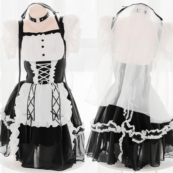 Sexy maid dress YC24047