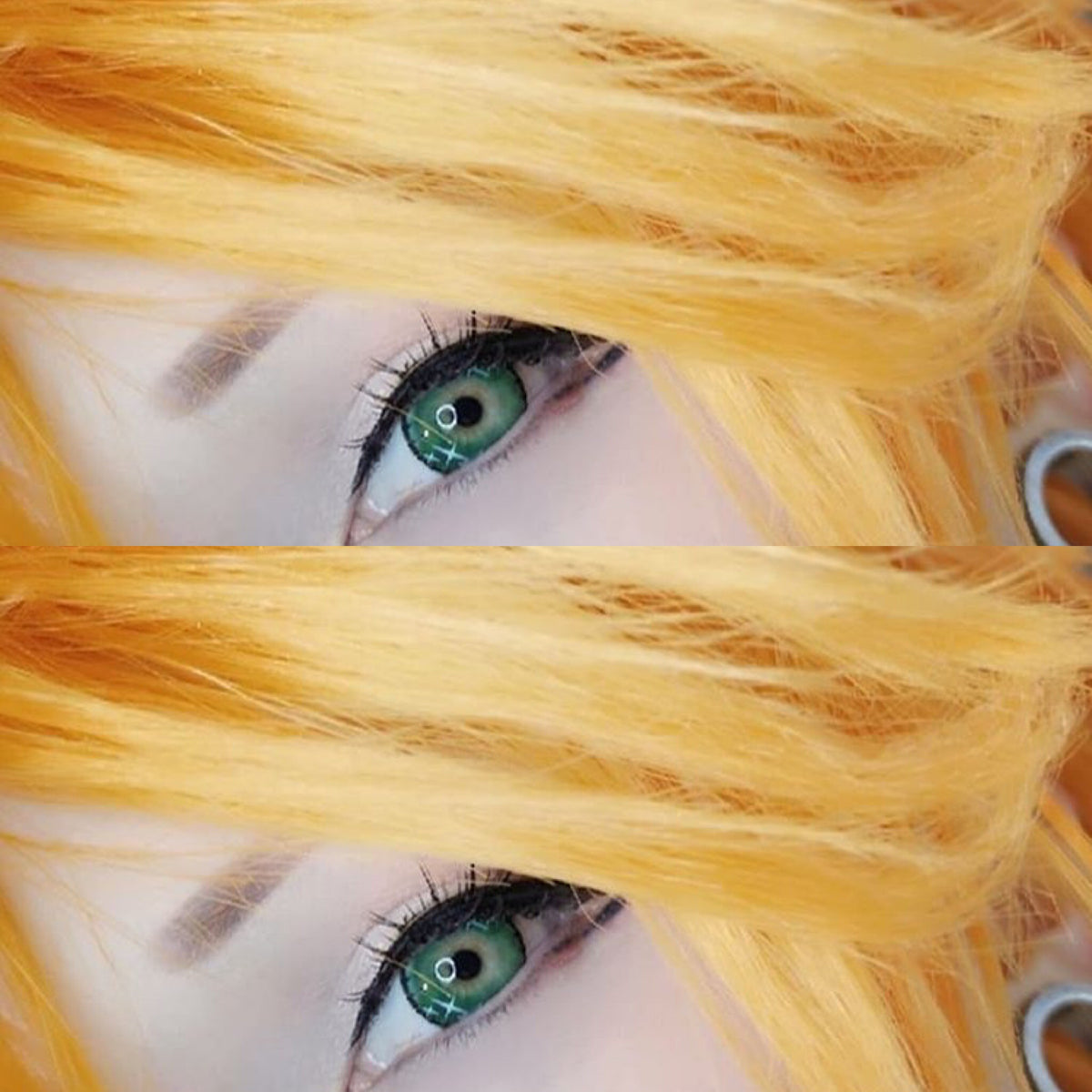 COSplay Colorful Green(Two piece)Contacts Lens YC20762
