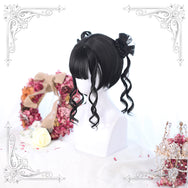 Harajuku short hair wig double ponytail yc22204