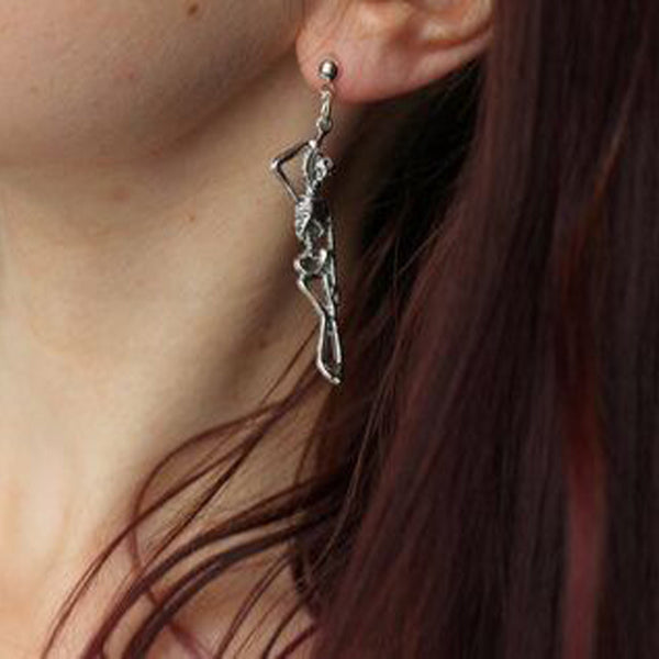 Human skeleton earrings YC22089
