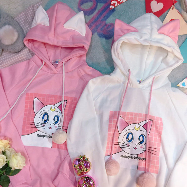 Luna Cat cos sweater YC22025