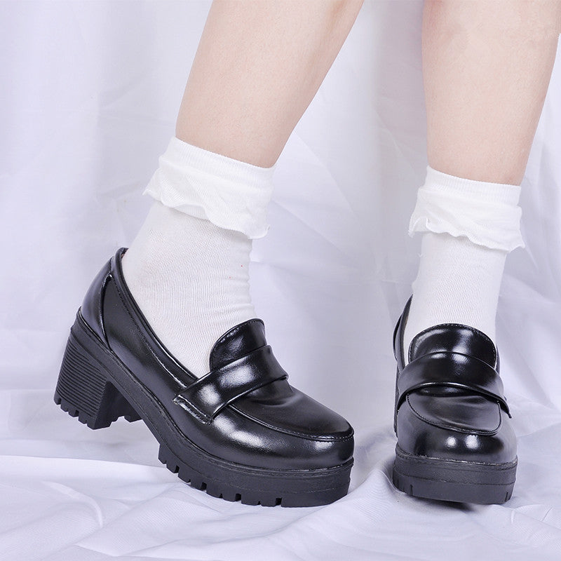 Rem cos leather shoes YC21869
