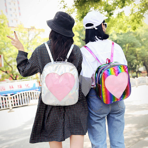 Rainbow Laser Love Backpack yc21074